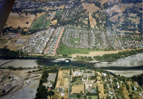 Birds Eye Aerial Views (Photos courtesy of C. Elze)