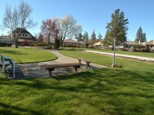 Bocce court path