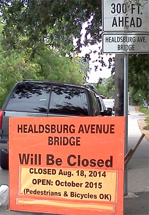 HBG bridge closure 2014-2015